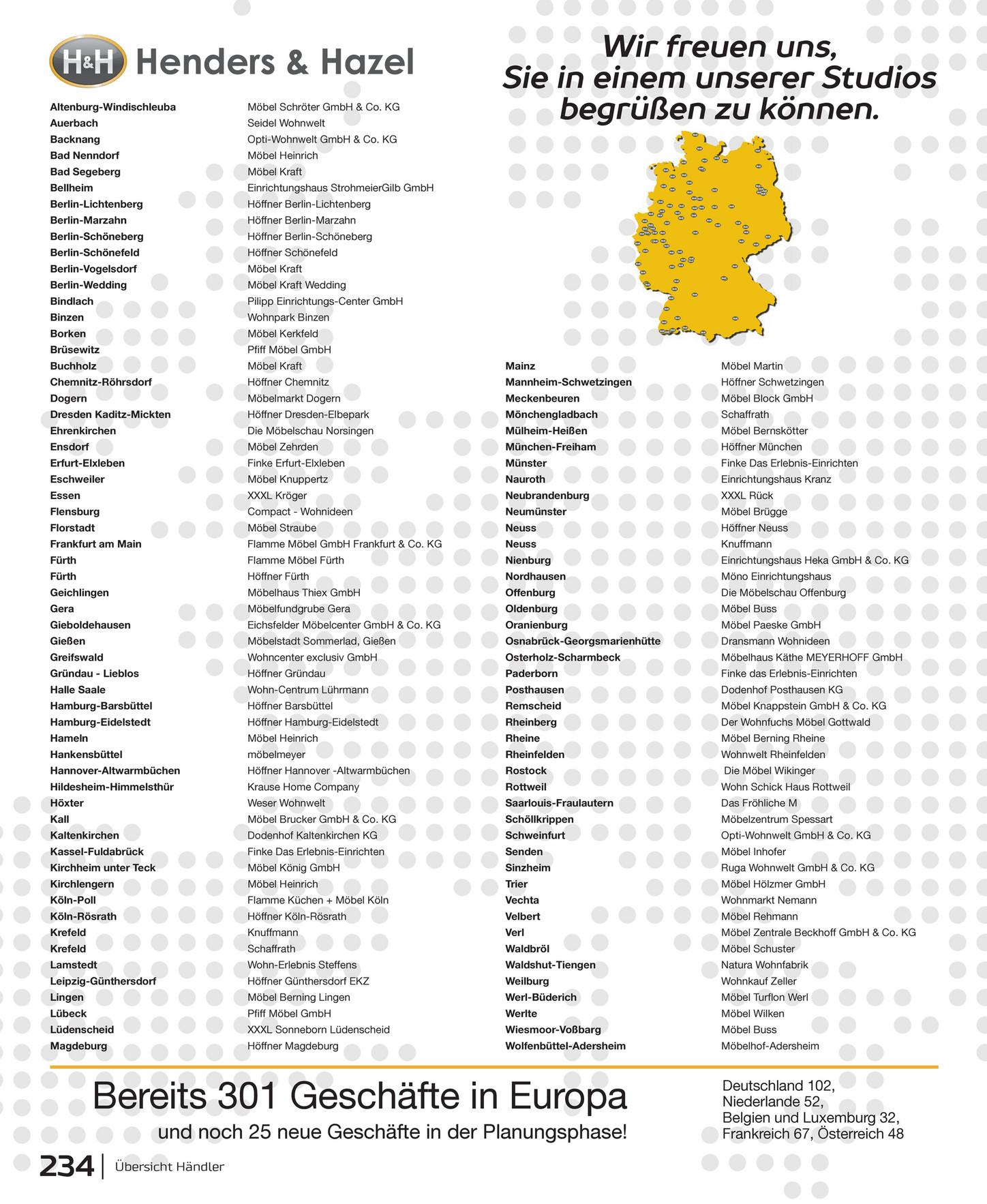 Compact Wohnideen Flensburg catalogus duitsland h h 236 seiten wohnen inspiration seite
