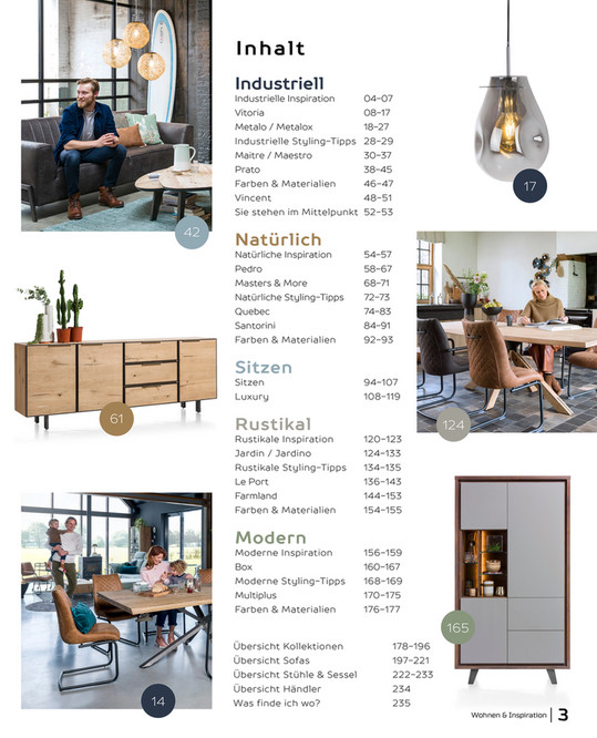 Catalogus Duitsland Hh Wohn Und Inspirationsbuch 2019 Seite 1